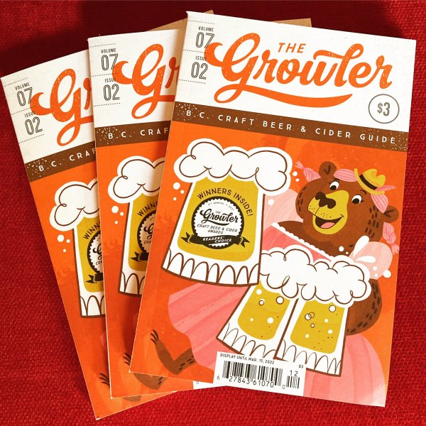 The Growler BC Fall/Winter 2021 Issue Now Available