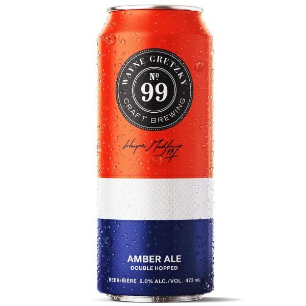 Wayne Gretzky Craft Brewing Releases No. 99 Amber Ale