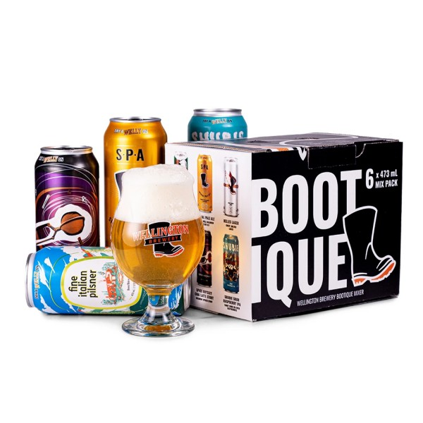 Wellington Brewery Releases Bootique Mixer Pack