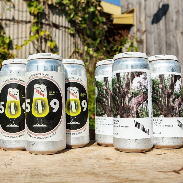 Willibald Farm Brewery Releases 519 West Coast IPA and Southern Pine Double IPA