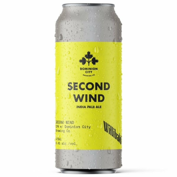 Willibald Farm Brewery and Dominion City Brewing Release Second Wind IPA