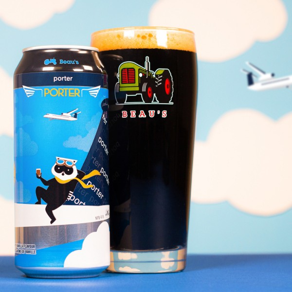 Beau's Brewing and Porter Airlines Release Porter Porter