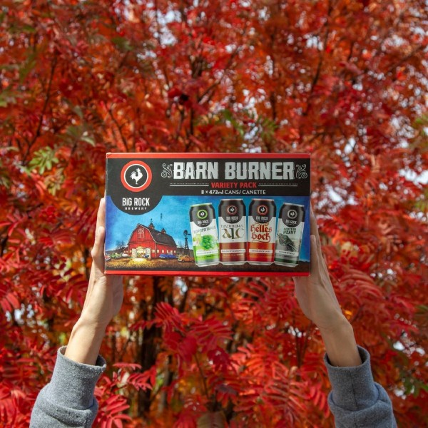 Big Rock Brewery Releases 2021 Edition of Barn Burner Variety Pack