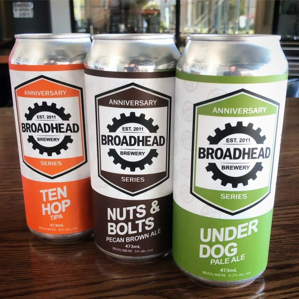 Broadhead Brewery Releases Three Beers for 10th Anniversary