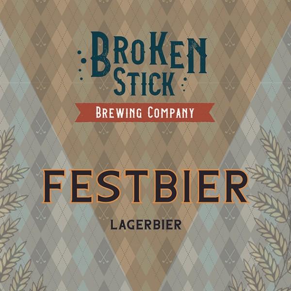 Broken Stick Brewing Releases Festbier Lager