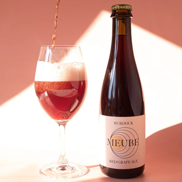 Burdock Brewery Brings Back Meube Red Grape Ale
