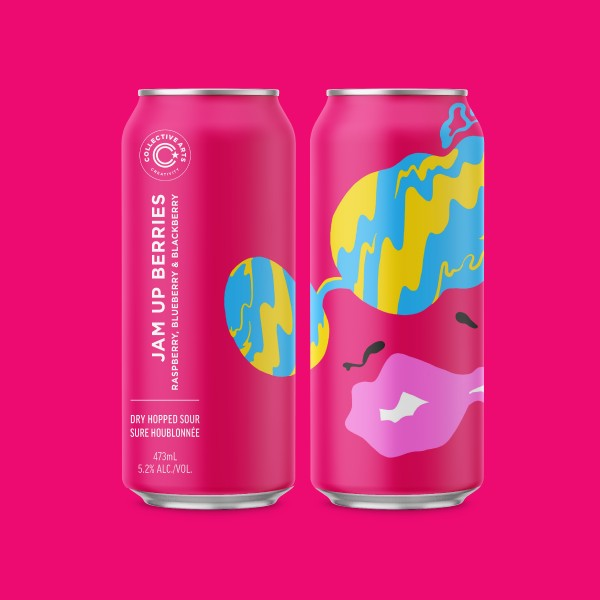 Collective Arts Brewing Releases Jam Up Berries Dry-Hopped Sour Ale