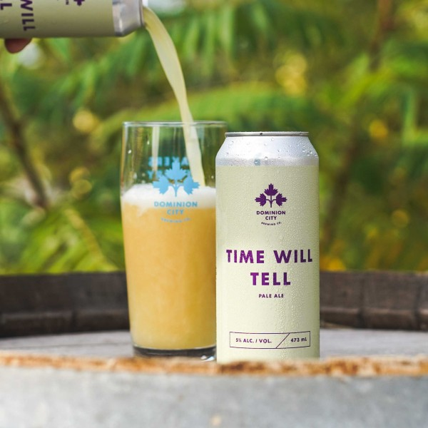 Dominion City Brewing Releases Time Will Tell Pale Ale