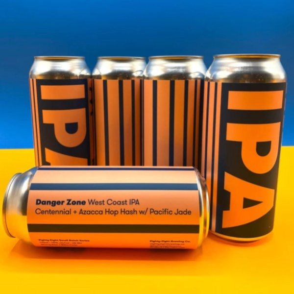 Eighty-Eight Brewing Brings Back Danger Zone West Coast IPA