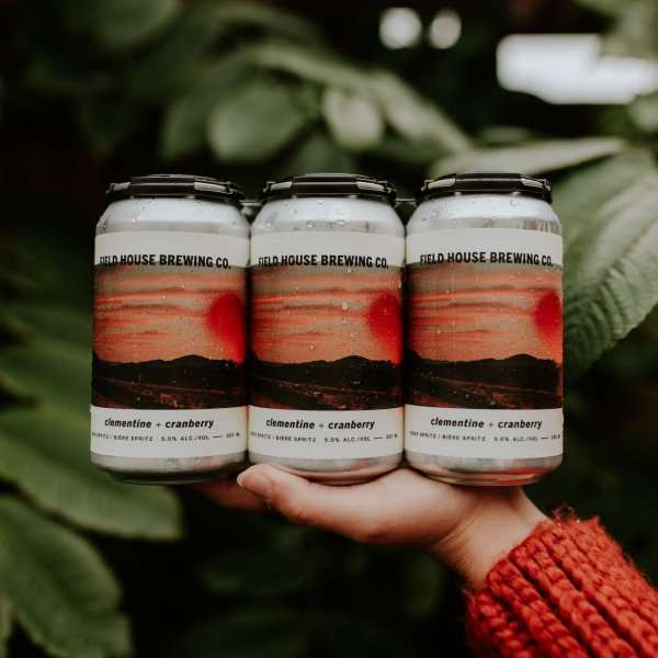 Field House Brewing Releases Clementine & Cranberry Beer Spritz