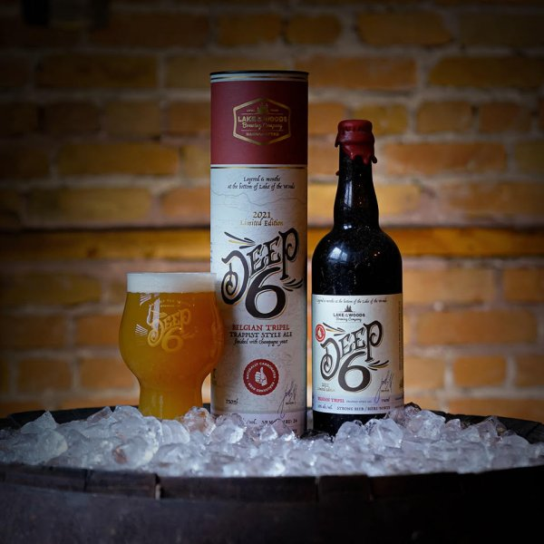 Lake of the Woods Brewing Deep 6 Series Continues With Belgian Tripel