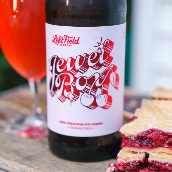 Left Field Brewery Releases Jewel Box Foeder-Aged Cherry Beer