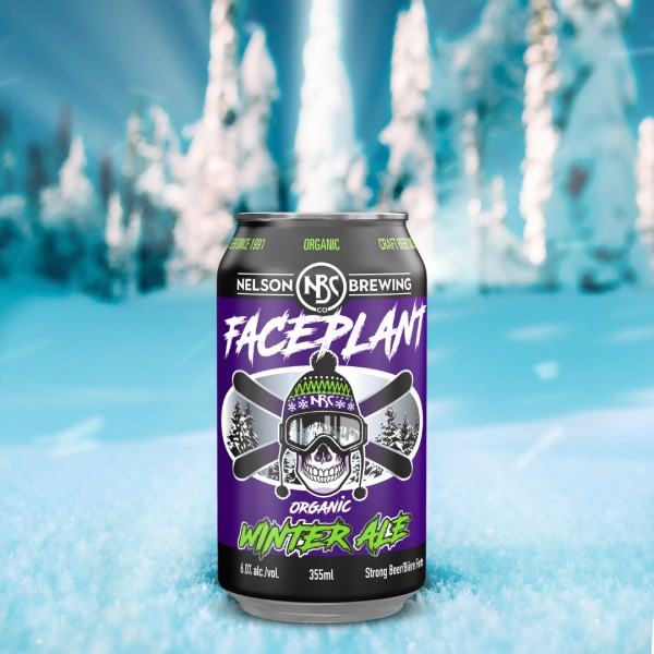 Nelson Brewing Debuts New Look for Faceplant Winter Ale