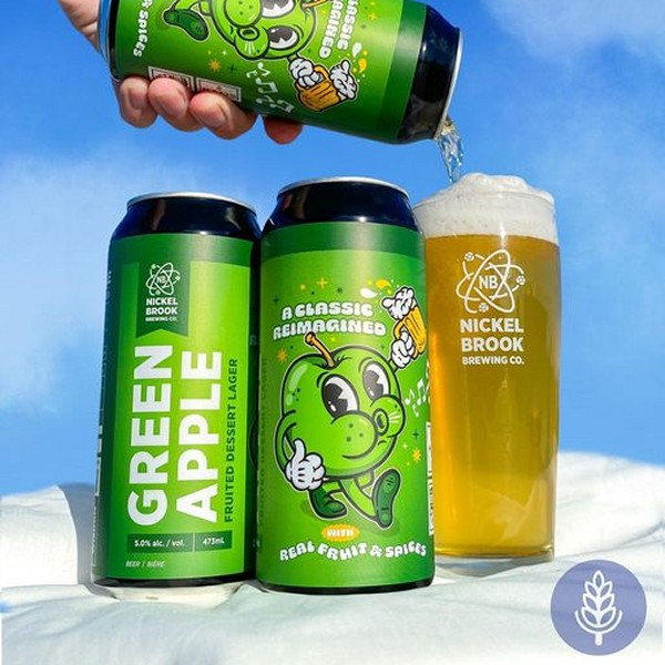 Nickel Brook Brewing Releases Green Apple Fruited Dessert Lager