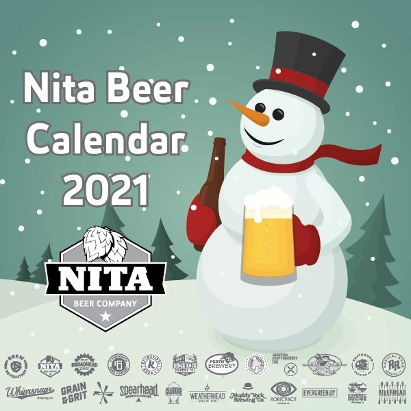 Nita Beer Co. Curating 4th Annual Collaborative Craft Holiday Beer Calendar