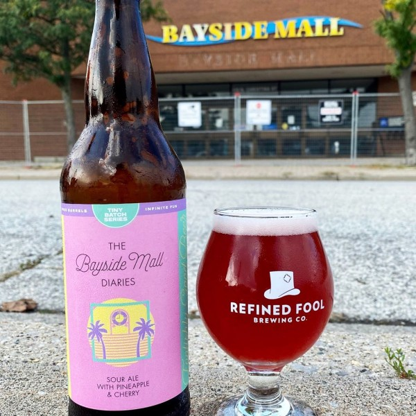 Refined Fool Brewing Releases The Bayside Mall Diaries Sour Ale