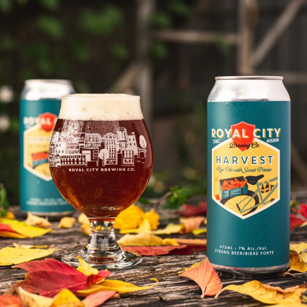 Royal City Brewing Release Harvest Rye Ale with Sweet Potato