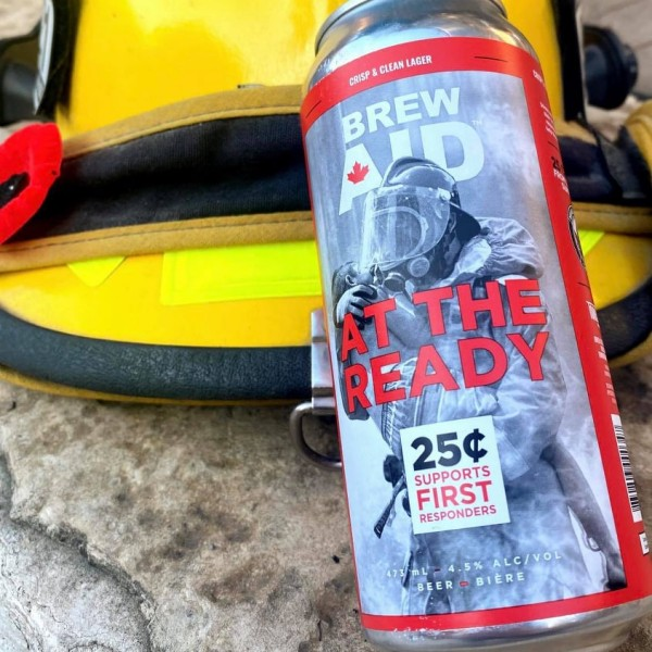 Tomorrow Brew Co. Brew Aid Series Continues with At The Ready Lager for Wounded Warriors Canada