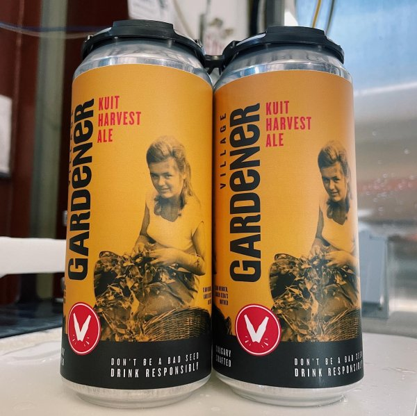 Village Brewery Releases 2021 Edition of Village Gardener Community Involved Ale